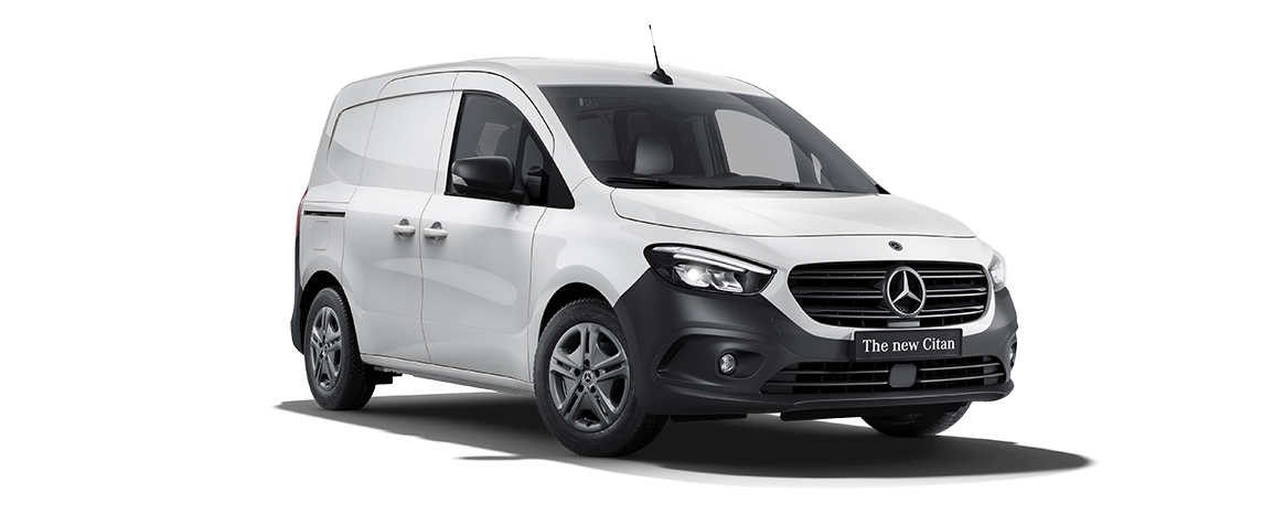 Citan varebil, artic white