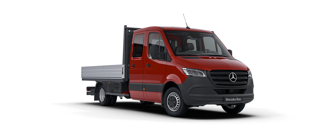 Sprinter planbil, jupiter red