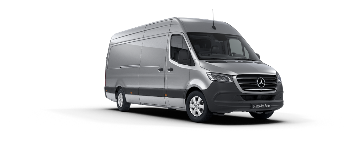 Sprinter varebil, iridium silver