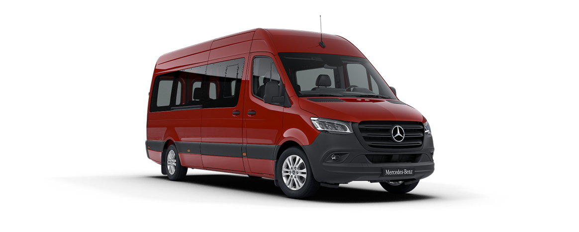 Sprinter Tourer, jupiter red